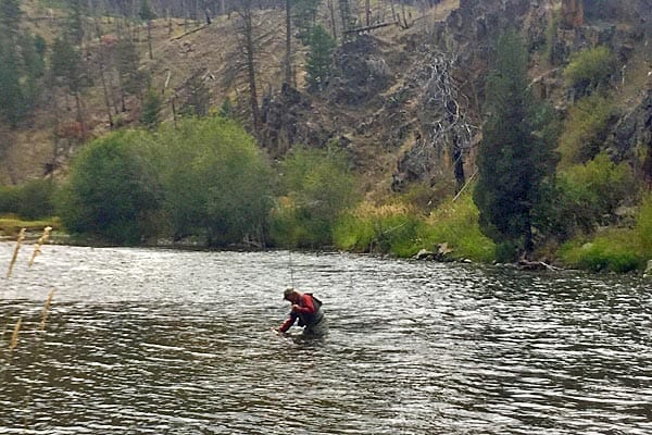 September trout fishing on Rock Creek Montana