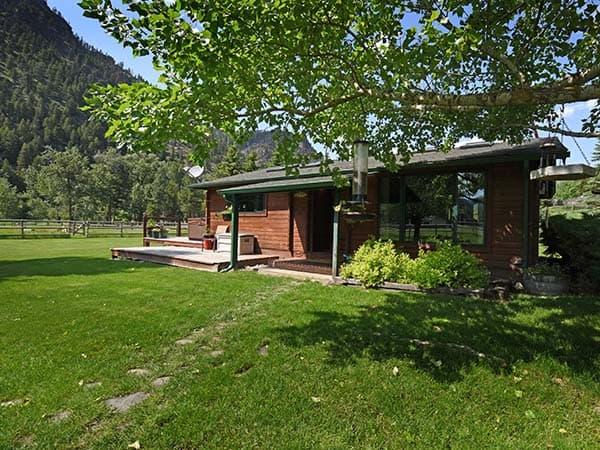 Sawmill Cabin Exterior